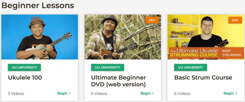 Ukulele Underground Lessons