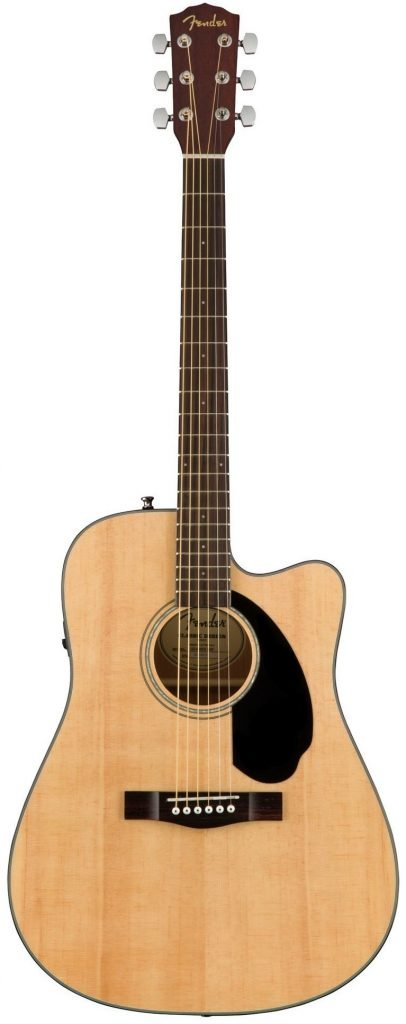 Fender CD-60SCE Acoustic-Electric Guitar