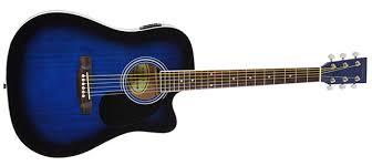 Jameson Guitars Thinline Acoustic-Electric Guitar