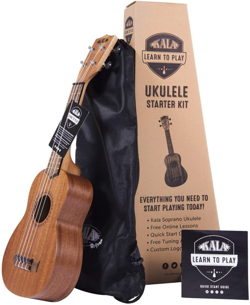 Kala Learn to Play Ukulele Soprano Starter Kit