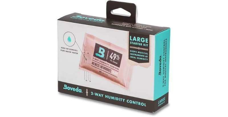 Boveda 2-Way Humidity Control Kit For Wood Instruments