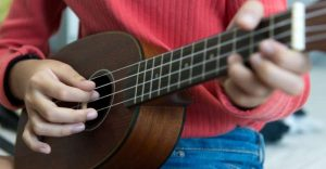 The Strings on a Ukulele Ordered and Named