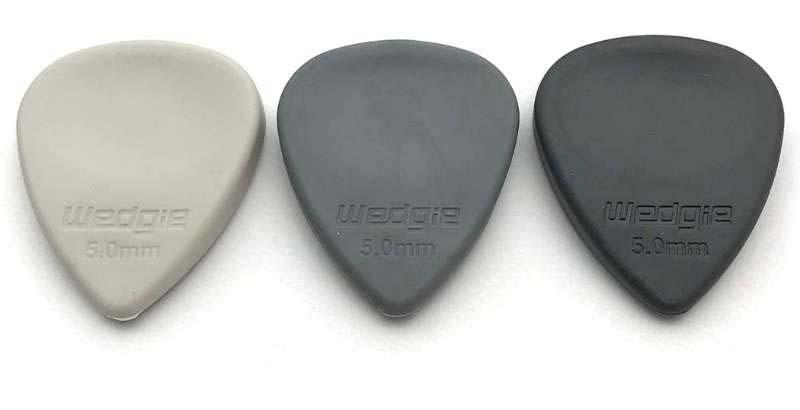 Wedgie WRM Soft, Medium, Hard Rubber Pick Sampler