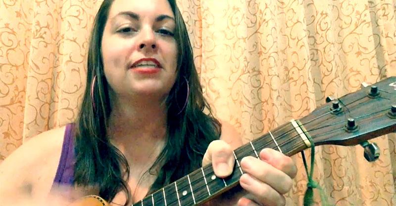 Silly ukulele music