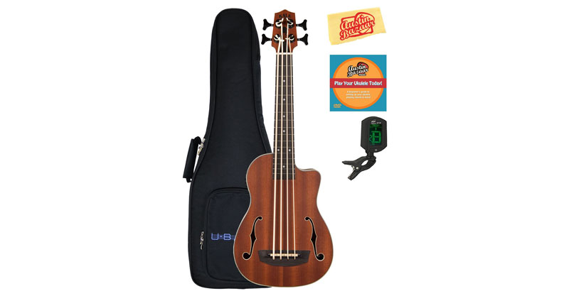 Kala U-Bass-JYMN-FS Journeyman Acoustic-Electric U-Bass