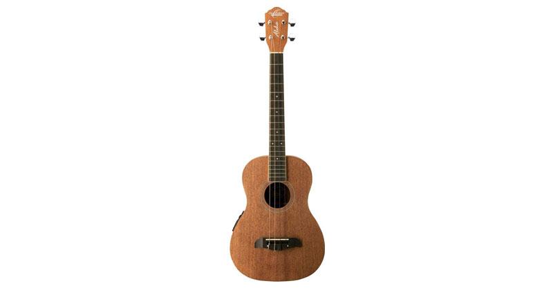 Oscar Schmidt OU52E Mahogany Baritone Acoustic-Electric Ukulele