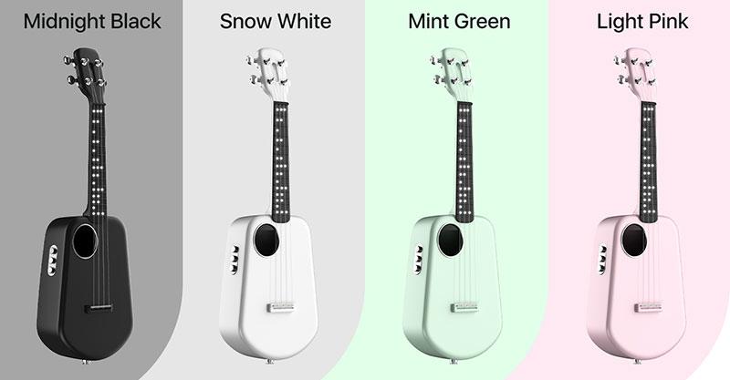 Populele 2 Pro Smart Ukulele 4 color options
